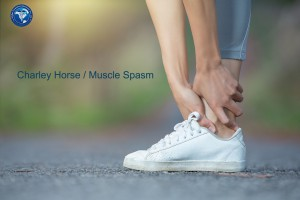 Woman muscle pain during running training